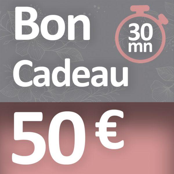 30 minutes pour 50 €