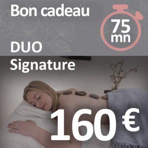 Le duo signature 75 minutes